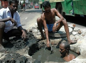 Manual scavengers 11th aug