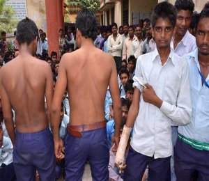 dalits students beaten by upper caste students